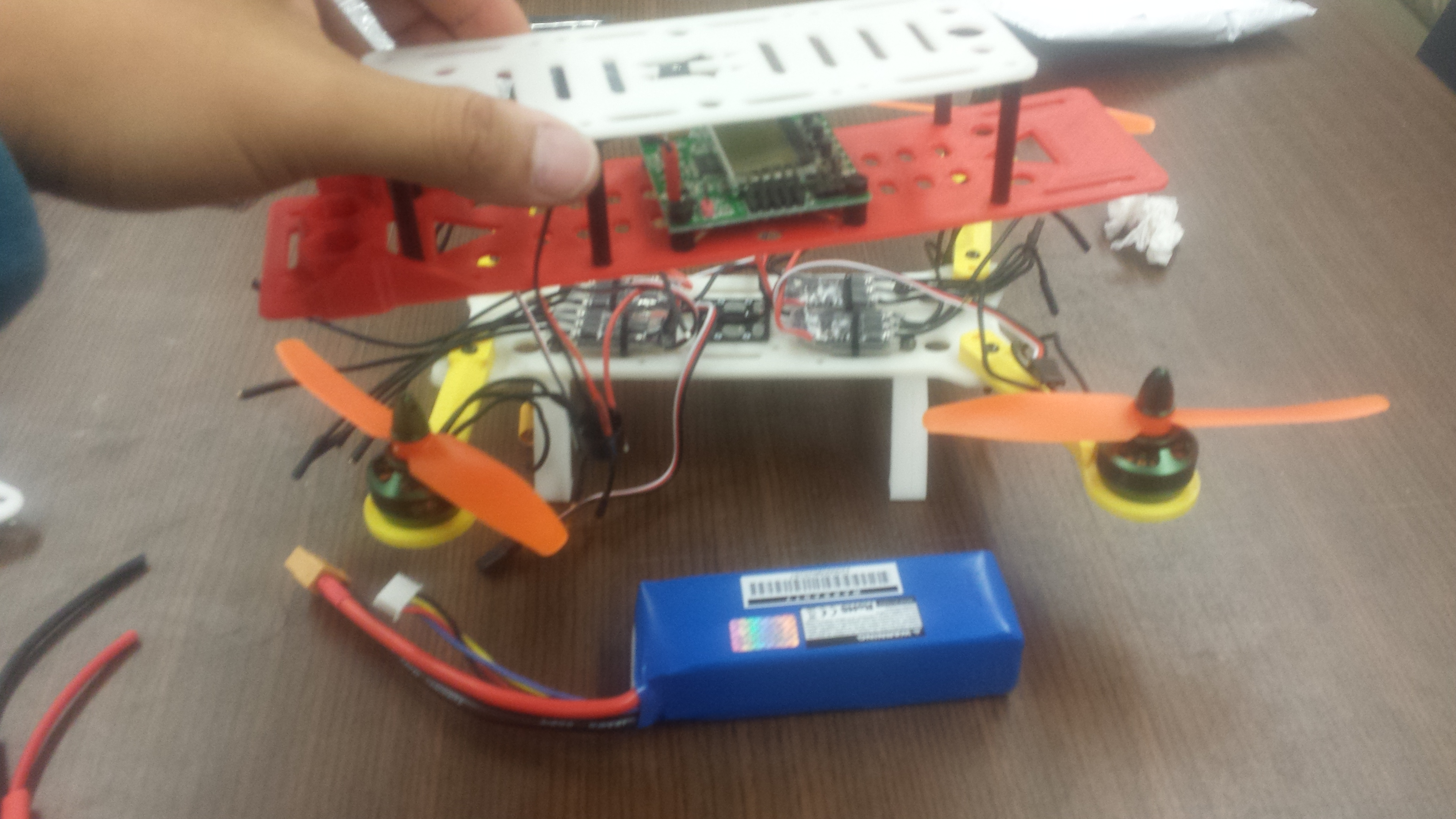 3D Printed Quadcopter Project – Justin Oyas